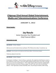 Global Entertainment, Media and Telecommunications Conference