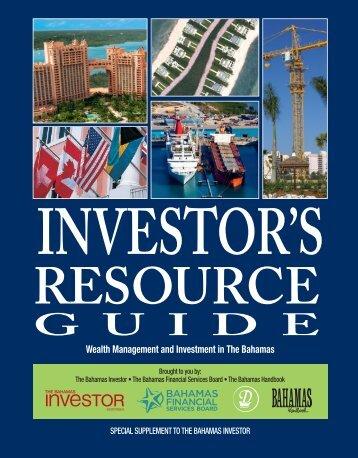 download 2013 Bahamas Investor's Resource Guide