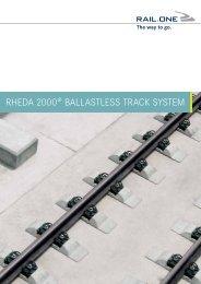 rheda 2000® ballastless track system - RAIL.ONE GmbH