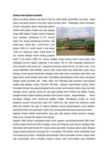 KP. Sumani - Hortikultura