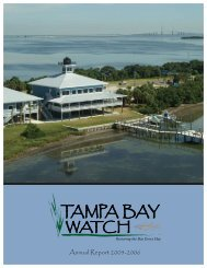Download 2005/06 Annual Report - Tampa Bay Watch