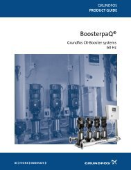 Grundfos Product Guide- BoosterpaQ® CR-Booster systems - 60 Hz