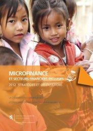 MICROFINANCE - Coopération et action humanitaire