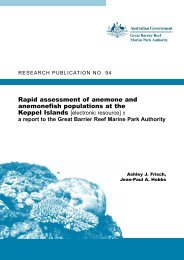 Rapid assessment of anemone and anemonefish populations at the