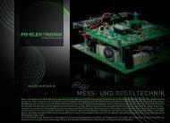 MESS- UND REGELTECHNIK - FG-Elektronik GmbH