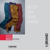 nos hosenflyer autumn / winter 2013 - KjBRAND
