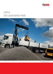 Brosjyre HiPro - Din avanserte Hiab - Hiab AS