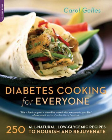 Diabetes Cooking for Everyone : 250 All-natural ... - Armchair Patriot