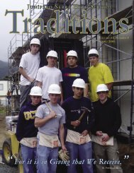 Traditions Spring 2005.indd - Junipero Serra High School