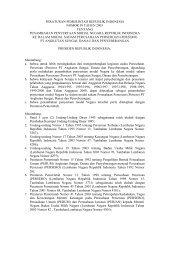 Peraturan Pemerintah No. 59 Tentang Penambahan ... - BPKP