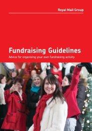 Fundraising Guidelines - myroyalmail