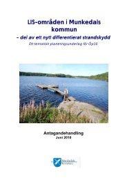 LIS-områden i Munkedals kommun – del av ett nytt differentierat ...