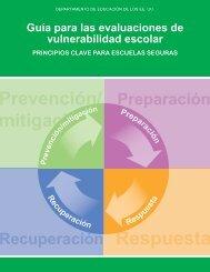 Guía para las evaluaciones de vulnerabilidad escolar