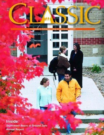 Fall 2003 - Northwestern College
