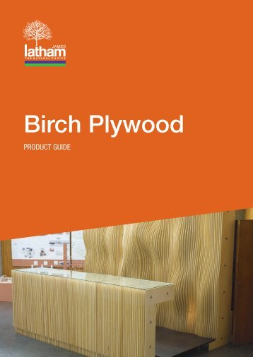 Birch Plywood Birch Plywood - ITM Timber Merchants