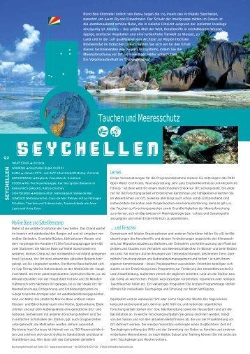 SEYCHELLEN - STA Travel