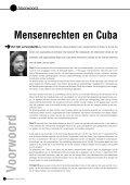 Mensenrechten in Cuba. Hel noch paradijs ... - Oxfam-Solidariteit - Page 4