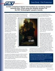iO Film completed digital intermediate for Academy Award ... - PNY