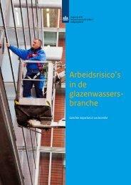 Arbeidsrisico's in de glazenwassers- branche - Inspectie SZW