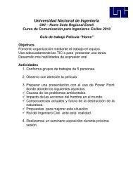 Guía de Película - Ing. Sergio Navarro Hudiel