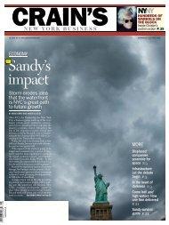 Sandy's impact - American Business Media