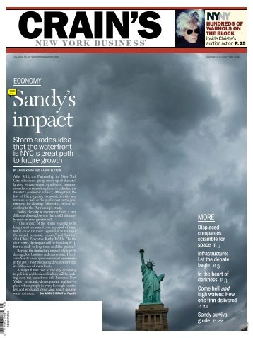 Sandy's impact - American Business Media