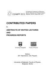 contributed papers & abstracts of invited lectures and progress reports