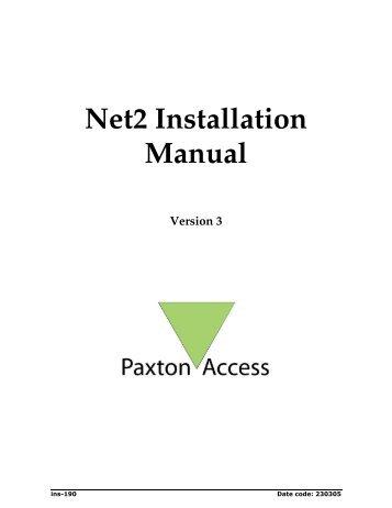 Net2 access control unit - IP Way