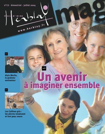 N° 13 - bimestriel - juillet 2004 - Herblay