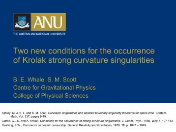 Two new conditions for the occurrence of Krolak strong curvature ...