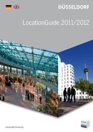 LocationGuide 2011/2012 - convention bureau Düsseldorf
