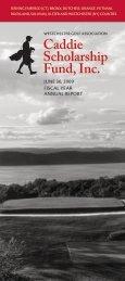 2009 Annual Report - WGA