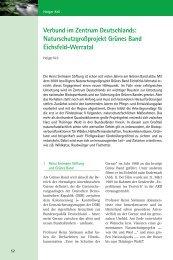 Verbund im Zentrum Deutschlands - Das Naturschutzgroßprojekt ...