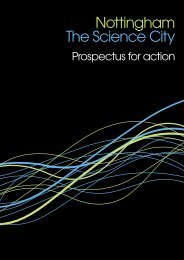 Science City Prospectus - Invest in Nottingham