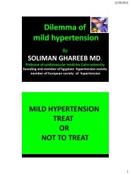 Mild hypertension treat or not to treat - RM Solutions