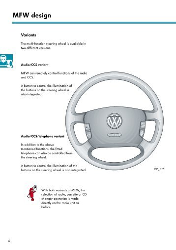 Self-Study Programme 235 The Multi-Function Steering ... - Volkspage