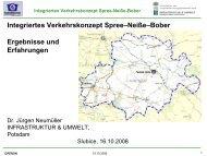 Integriertes Verkehrskonzept Spree–Neiße–Bober Ergebnisse und ...