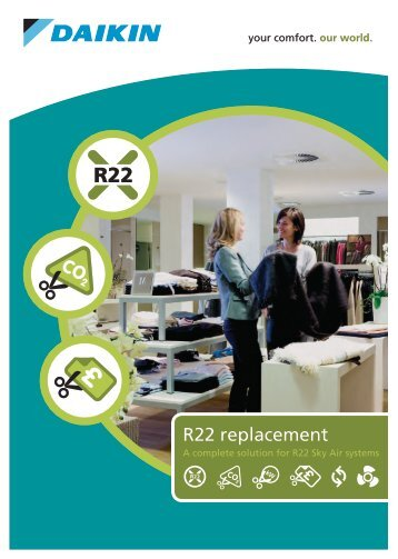 R22 replacement - B&H Services Air Conditioning & Ventilation