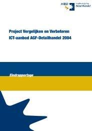 projecten vergelijken2004.qxd - Hoofdbedrijfschap Detailhandel