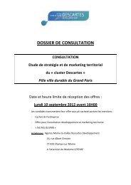 CDC Marketing territorial consultation Vfinale - Agglomération de ...