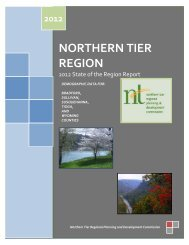 Bradford County - Northern Tier Regional Planning and ...