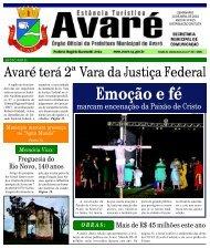 Emoção e fé - Câmara Municipal da Estância Turística de Avaré
