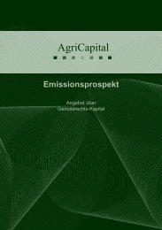 AgriCapital AG - BiogaS
