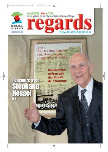 """Regards"" avril 2009 (pdf - 2,62 Mo) - Ville de Saint Jean de Braye"