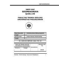 GBPP Mata Kuliah GEOMEKANIKA - Blogs Unpad - Universitas ...