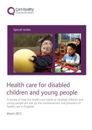 Health care for disabled children and young people - Social Welfare ...