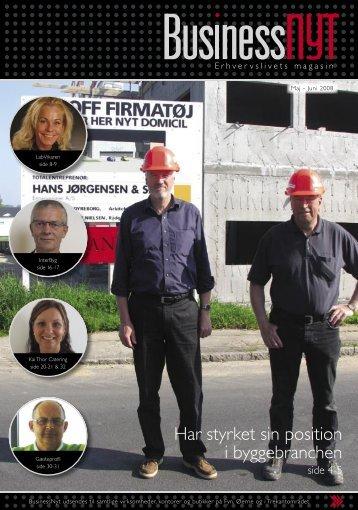Har styrket sin position i byggebranchen - businessnyt.dk