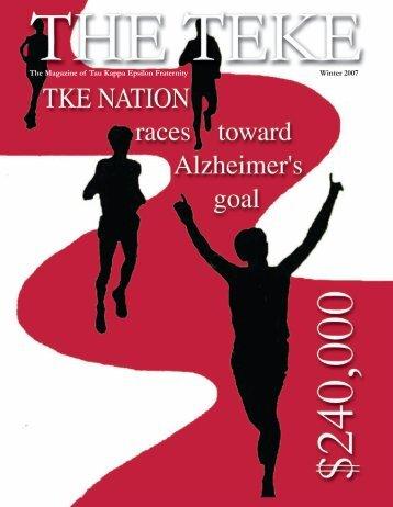 The Magazine of Tau Kappa Epsilon Fraternity Winter 2007