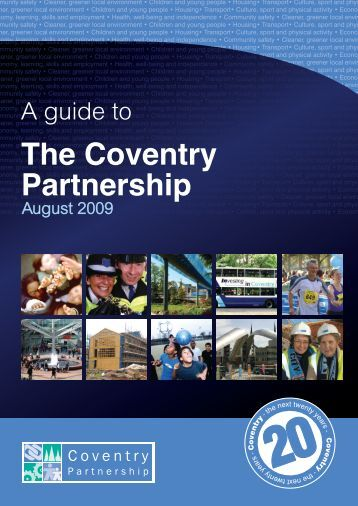 Guide to the Coventry Partnership