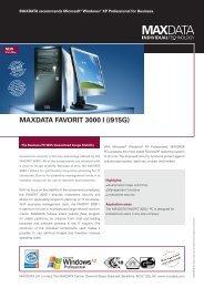 MAXDATA FAVORIT 3000 I (i915G)